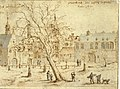 Vrijthof zuidoosthoek, toeschrijving V Klotz, 1670 (LGOG).jpg