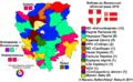 Vybory do Volyns`koji oblasnoji Rady 2010 (mapa marzorytarnych okruhiv).png