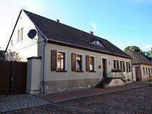 Geburtshaus in Wörlitz (Quelle: Wikimedia)