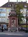 Würzburg - Hofstraße Chronos-Brunnen.jpg