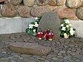 Włocławek-hassock in cavern of Mother of God, Queen of Peace.jpg