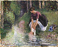 WLA ima Woman Washing Her Feet in a Brook.jpg