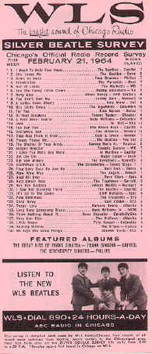 WLS (AM) - WLS weekly Silver Dollar Survey, distributed free via record stores, was retitled Silver Beatle Survey during the height of Beatlemania