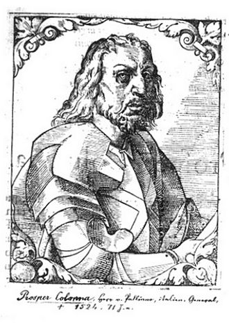 Colonna family - Prospero Colonna (1452–1523), papal condottiere
