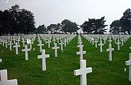 WW2 Normandy American Cemetery Rain