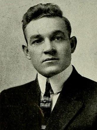 C. W. Martin - Martin pictured in Yackety Yack 1913, North Carolina yearbook
