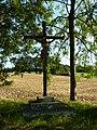 Wagnon (Ardennes) croix de chemin, lieu-dit Mazagran.JPG