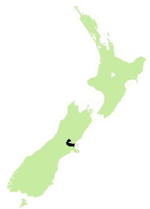 Waimakariri (New Zealand electorate) - The Waimakariri electorate from 2008