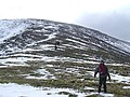 Walkers approaching the summit and battling the wind - geograph.org.uk - 711436.jpg