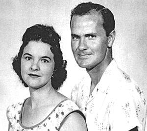 Wally Scott - Wally Scott and wife Boots