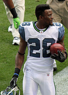 Walter Thurmond Player of American football