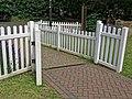 Wanstead & Snaresbrook CC entrance gate, Wanstead, London 01.jpg