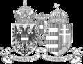 Wappen Österreich-Ungarn 1915 (Klein-SW).png