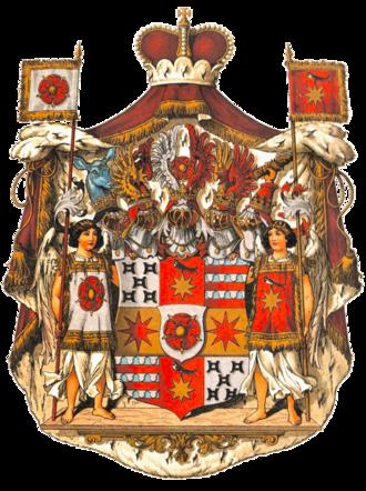 Principality of Lippe - Image: Wappen Deutsches Reich Fürstentum Lippe