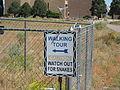 Warning sign – Very Large Array.JPG