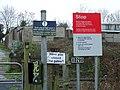 Warning signs - geograph.org.uk - 1085525.jpg