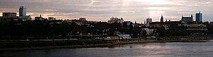 Widok z mostu �wi�tokrzyskiego