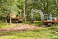 Warwickslade Cutting, digging machinery - geograph.org.uk - 1438723.jpg