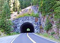 Washington State Route 123 tunnel south side in Mount Rainier National Park.jpg