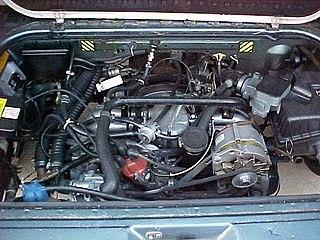 Wasserboxer Motor vehicle engine