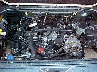 Volkswagen Type 2 (T3) - Volkswagen wasserboxer engine