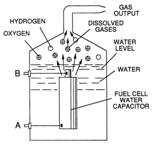 Stanley Meyer's water fuel cell - Image: Water fuel cell capacitor