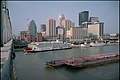 Waterfront and downtown Louisville Kentucky USA Ohio River mile 604 July 1995 file 95g006.jpg
