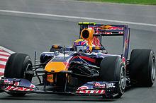 Webber durante il Gran Premio del Canada 2010