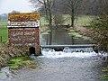 Weir on the River Tarrant - geograph.org.uk - 1144369.jpg