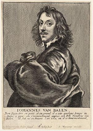 Jan van Balen - Jan van Balen in Het Gulden Cabinet