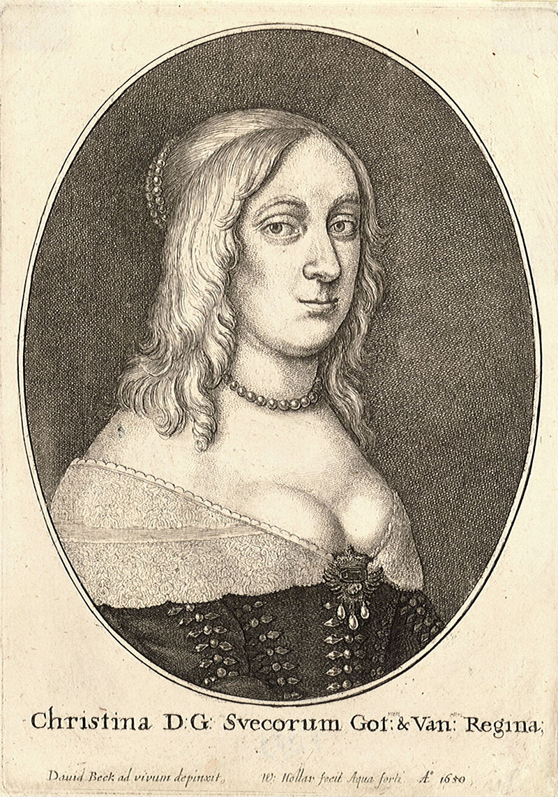 Wenceslas Hollar - Queen Christina of Sweden (State 1).jpg
