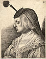 Wenceslas Hollar - Woman with a flat black houpette (State 3).jpg