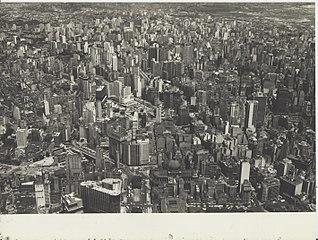 Vista aérea do centro da cidade. São Paulo/SP