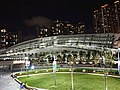 West side of West Kowloon Station at night.jpg