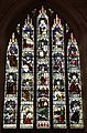 West window in memory of Revd Francis Jourdain in St Oswald's Church, Ashbourne.jpg
