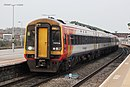 Westbury - SWR 159106+159008 diverted to Exeter.JPG