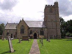 Whitelackington - Image: Whitelackington church