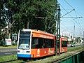Wielicka Street in Krakow, tram.jpg