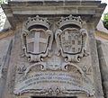 Wignacourt Water Tower inscription and coat-of-arms.jpeg