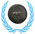 WikiProject Numismatics Ancient Roman coins taskforce concept logo (2017).png