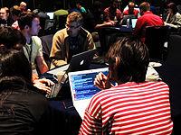 Wikimanía 2015 - Hackaton Day 1 - LMM - México D.F. (5).jpg