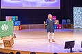 Wikimania 2019 closing ceremony - Katherine Maher & WCA.jpg