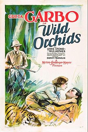 Wild Orchids (film) - Film poster