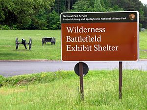 Locust Grove, Orange County, Virginia - Wilderness Battlefield Exhibit