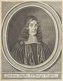 William Bates (minister) English presbyterian minister