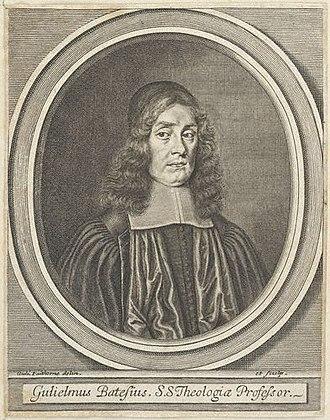 William Bates (minister) - William Bates, engraving by William Faithorne.