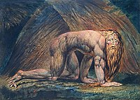 Nabucodonosor visto da William Blake.