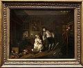 William hogarth, marriage a-la-mode, 1743 ca., 05 il bagno pubblico, 1.jpg