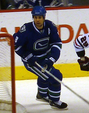 Willie Mitchell (ice hockey) - Mitchell during a Canucks' game in 2009