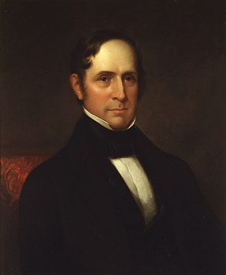 Willie Person Mangum - 1844 portrait by James Lambdin